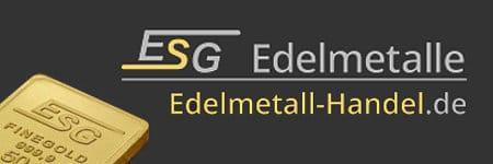 Werbebanner der ESG